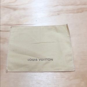 Small Louis Vuitton dust bag